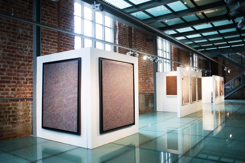 malarstwo zrodzone z metody/ obrazy- czyli wizyta w Galerii El