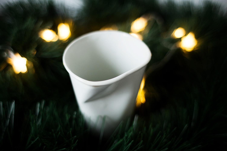 Kubek manufaktura porcelany